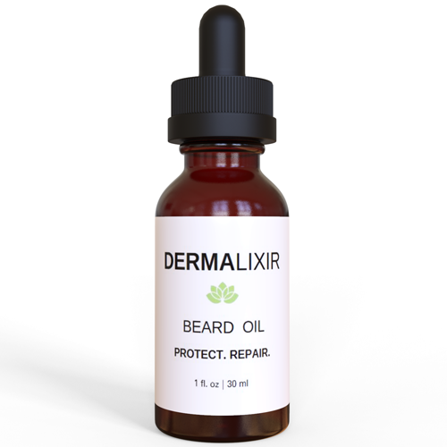 beard oil botanical